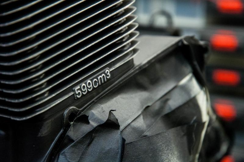 Suzuki Bandit n600 REbuild Progress.  Dsc_0018