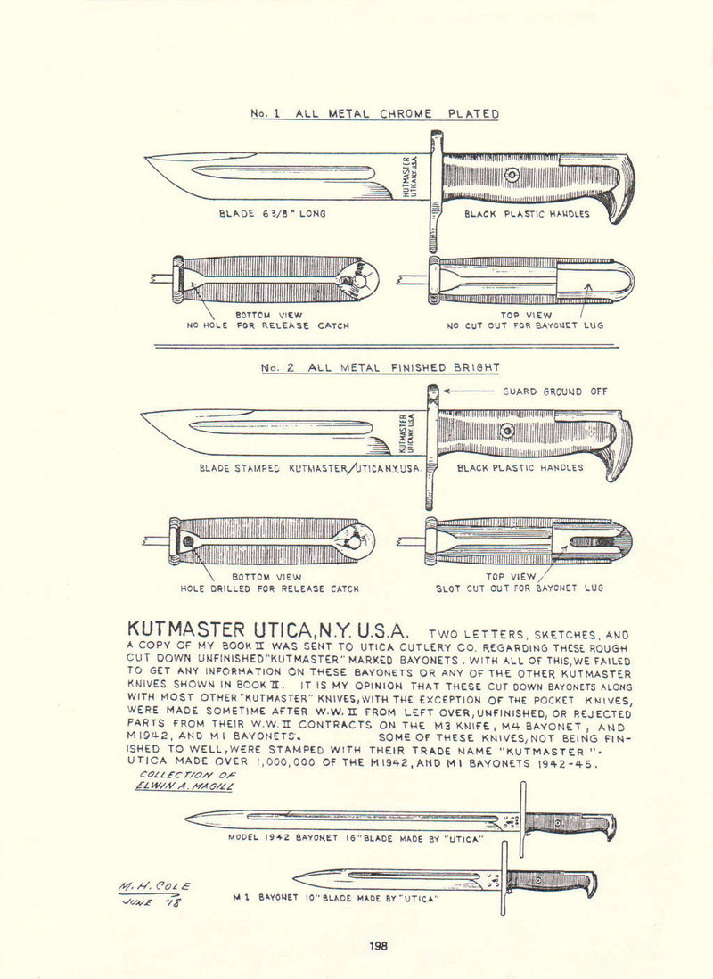 Les Baïonnettes Garand (SUITE) - Page 4 Cole_310