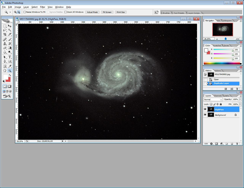 ImageProcessing : Technique HighPass 110