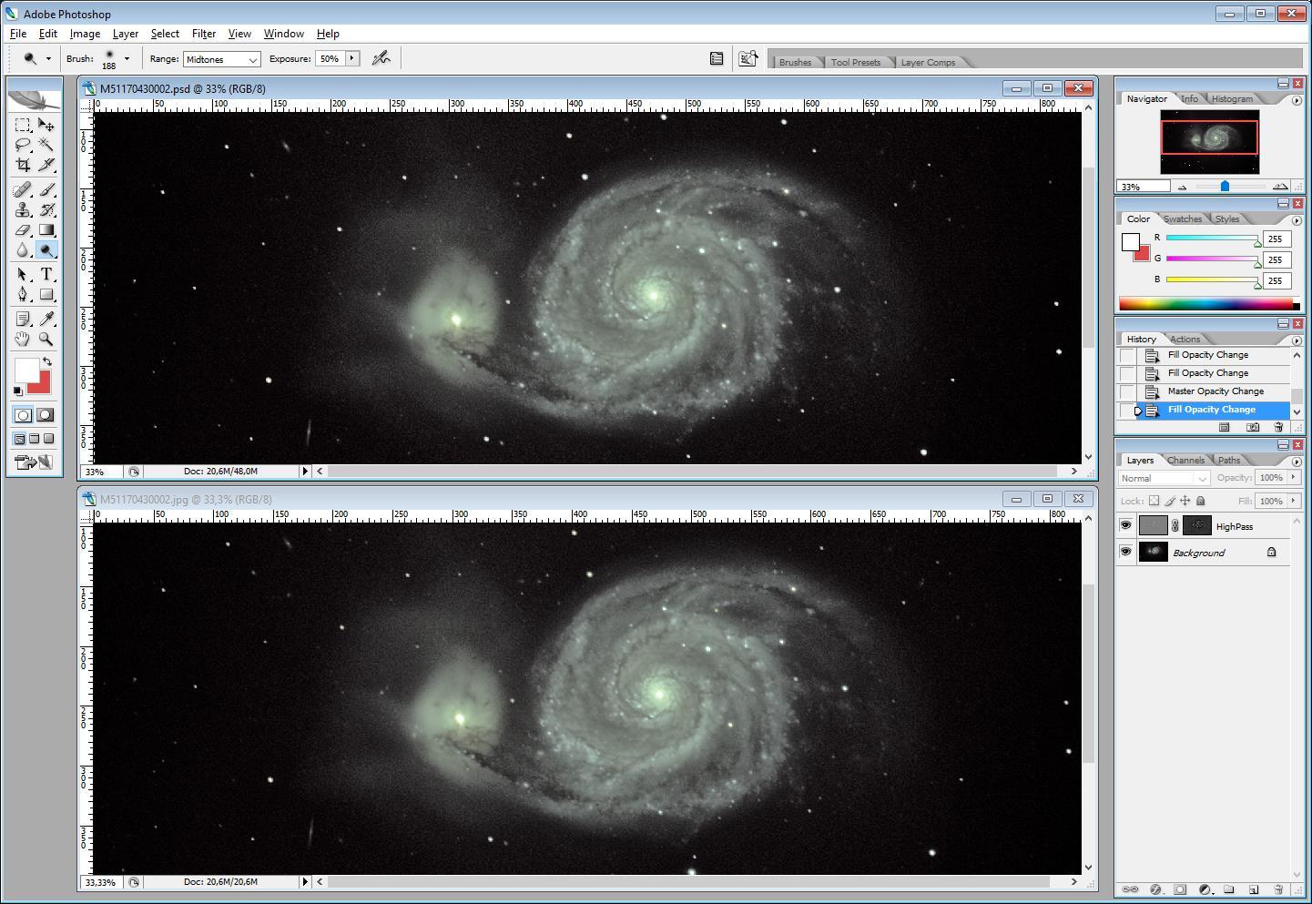 ImageProcessing : Technique HighPass 610