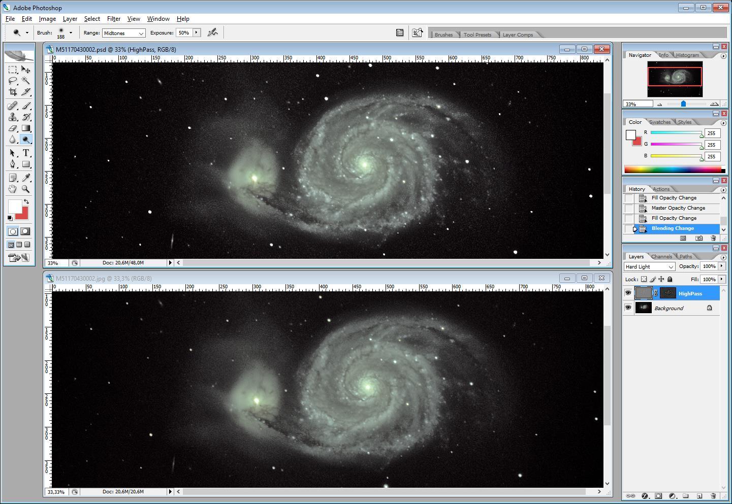 ImageProcessing : Technique HighPass 710