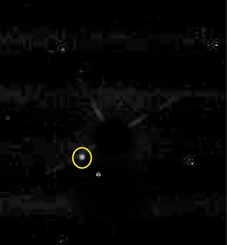 Photo d'une planète et de son étoile... Captur13