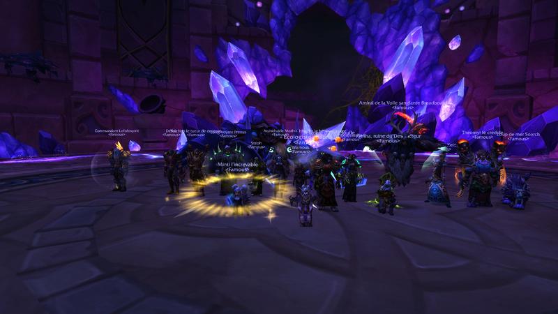 1ère soirée sur le pallier en Mythique: Skorpyron Mythic Down  Wowscr10