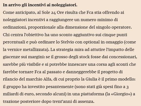 Lancia RIP - Il lento calvario di un mito. - Pagina 2 Sole410