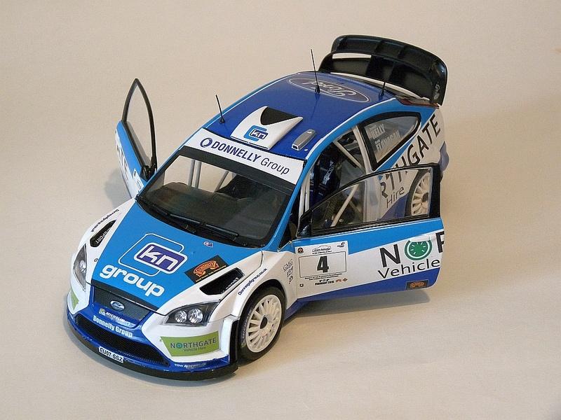 KELLY FLANAGAN 1:18 scale Galway 2015 FOCUS WRC P1100210