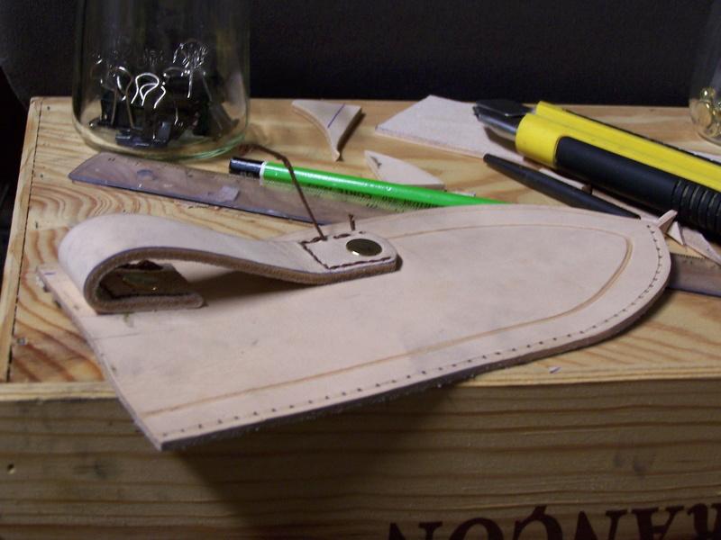 Fabrication d'un couteau avec des pièces de récup. - Page 2 100_1820