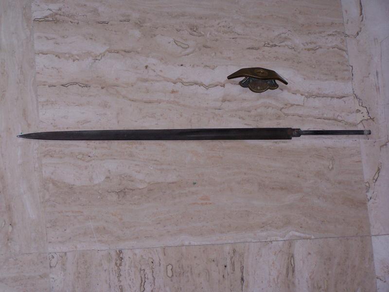 Fabrication d'un couteau 310