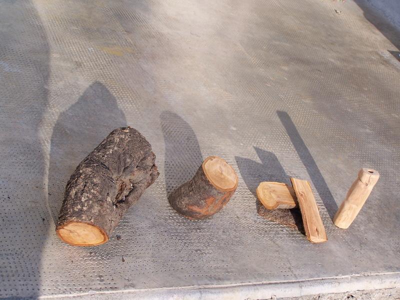 Fabrication d'un couteau 810