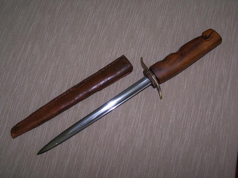 Fabrication d'un couteau G510