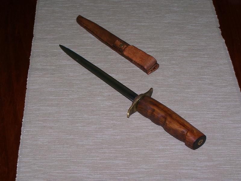 Fabrication d'un couteau G610