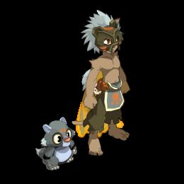 Team de 4 : panda/enu/eca/roublard : atour des familiers de Frigost! Skin_t39