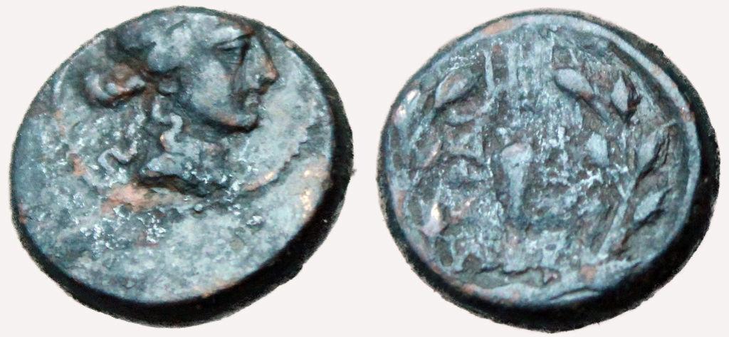 Bronze grec pour la ville de Sardes en Lydie ... Grec11