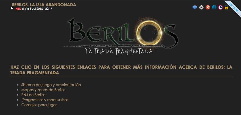 HEX al habla: Prueba piloto de nuevo sistema de información en Berilos Captur18