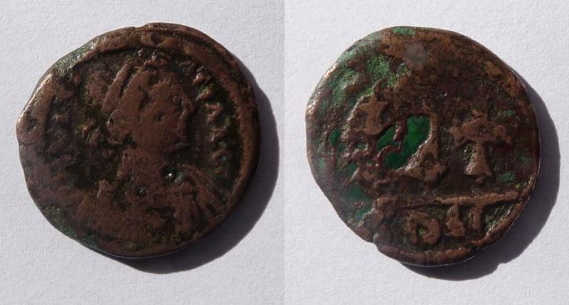 Besoin d'aide à l'identification d'une byzantine Justin10