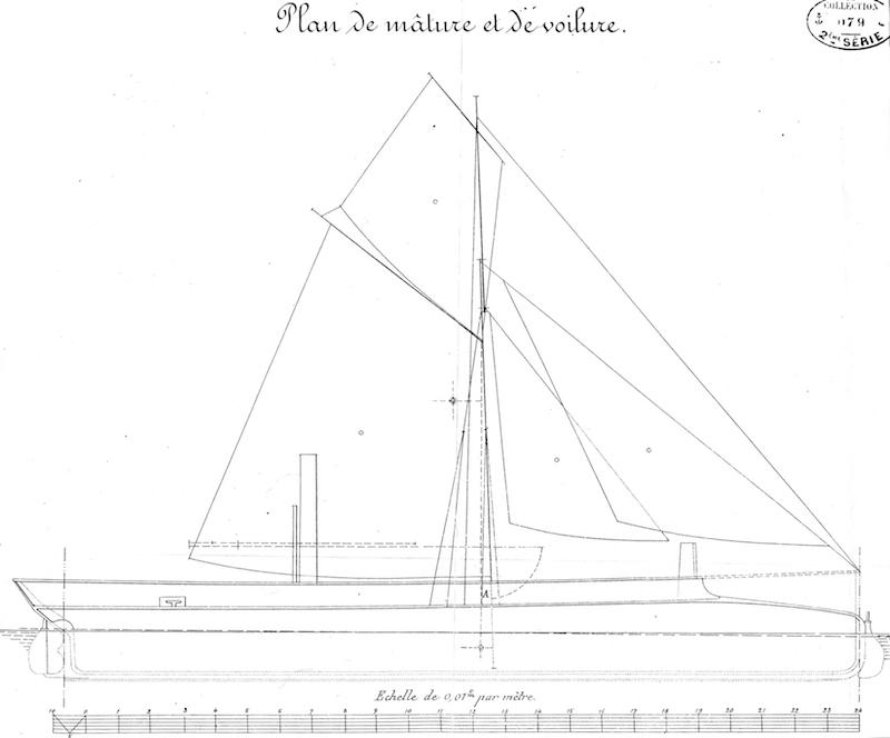 Chaloupe canonnière 1858 - 1:75 Img05510