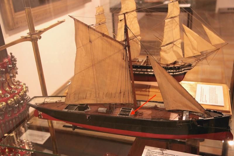 Chaloupe canonnière 1858 - 1:75 Img_7610
