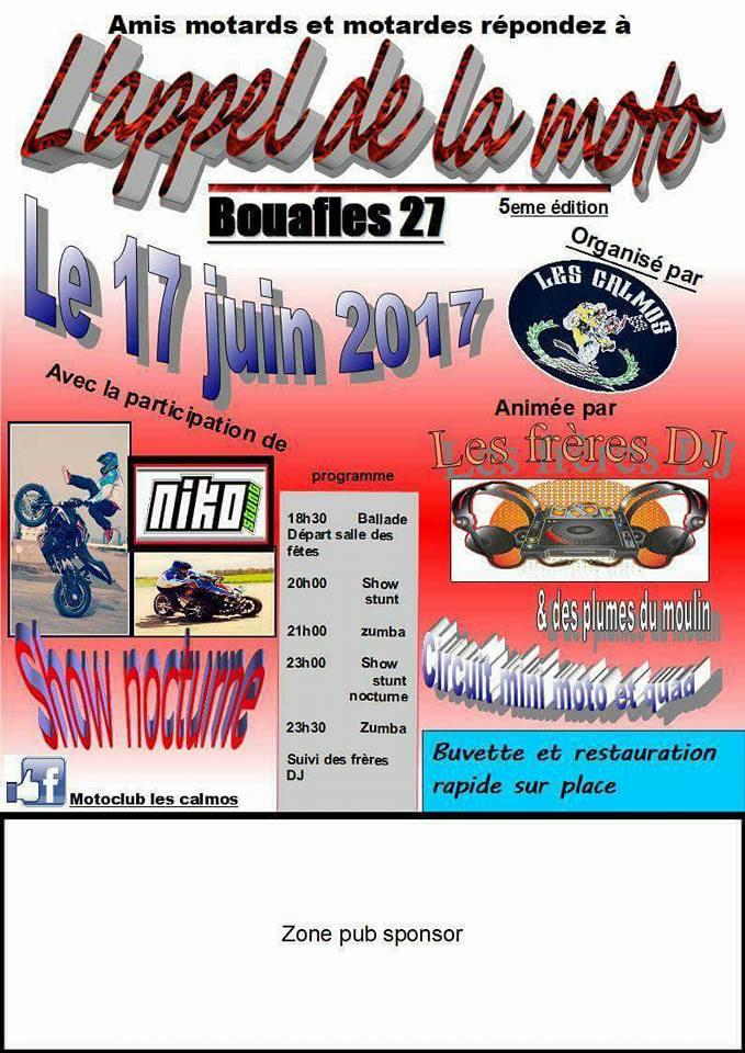 L APPEL DE LA MOTO  5 eme edition 17098210