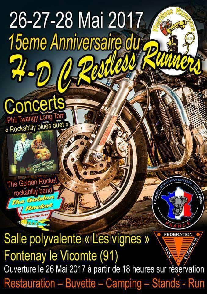 15 eme Anniversaire du H-D C Restless Runners 17201410