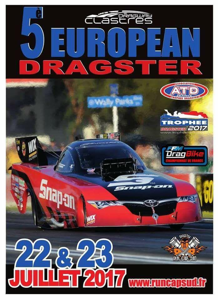 5 EUROPEAN DRAGSTER    CLASTRES (02) 17757210