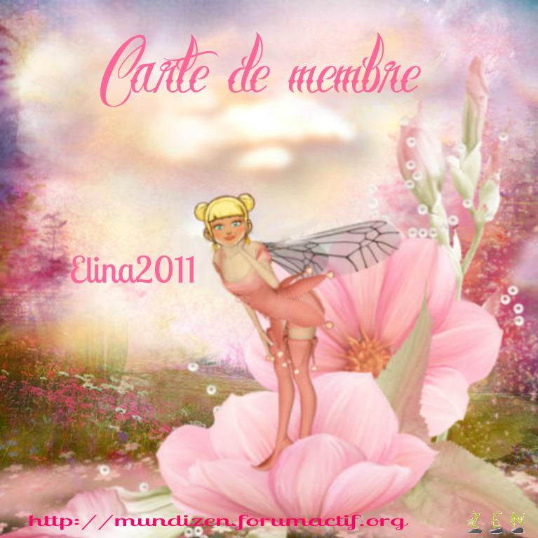Carte de membre elina2011 Elina210