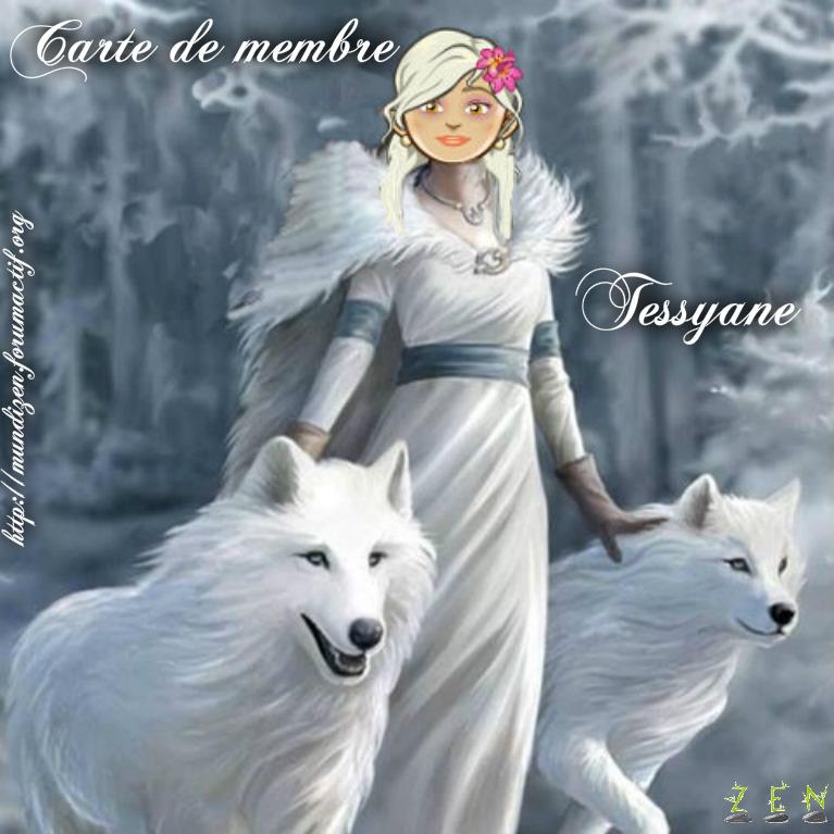 carte de membre tessyane Tessya10
