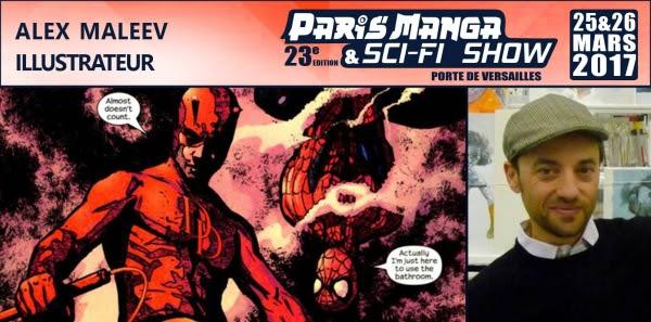 Alex Maleev et Esad Ricic présent au Paris Manga Unname11