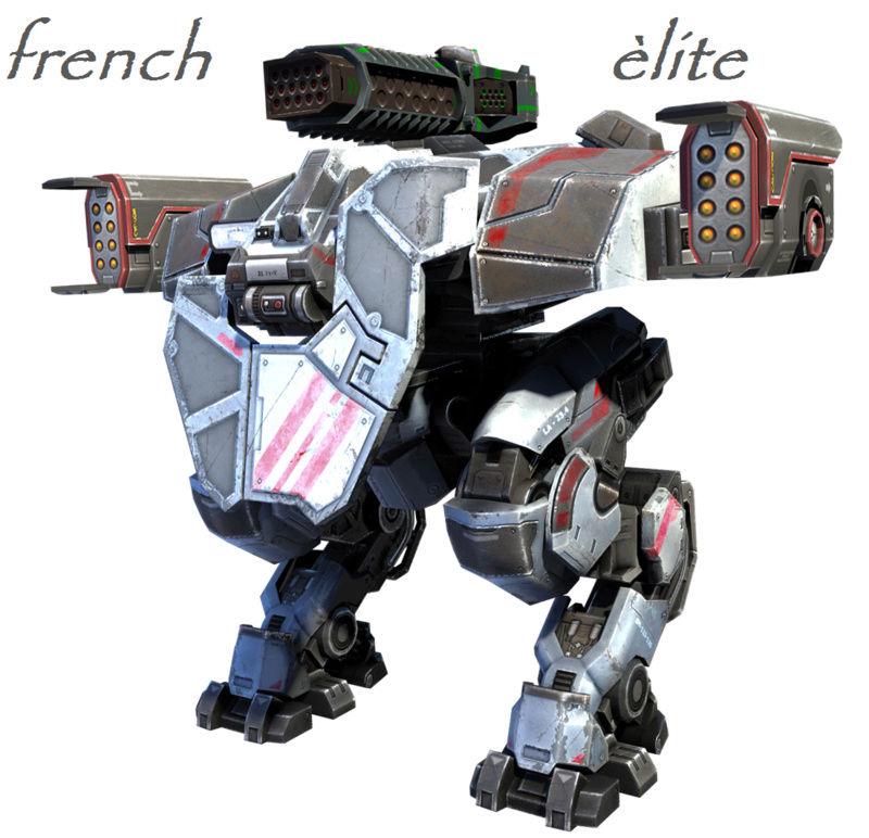 Guerre des robots clan FR