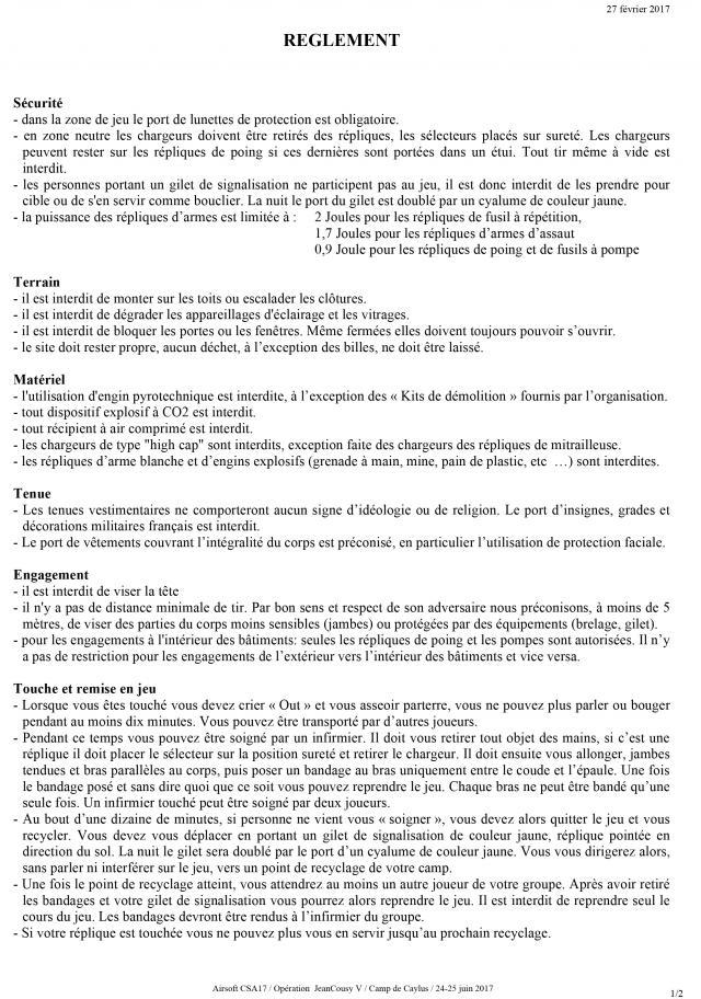 """Opération """" JEANCOUSY V """" 24-25 juin 2017  Jcv-r-11"""