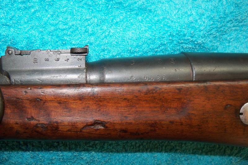 Carabine de gendarmerie Berthier Mle 1890 St Etienne 100_7511