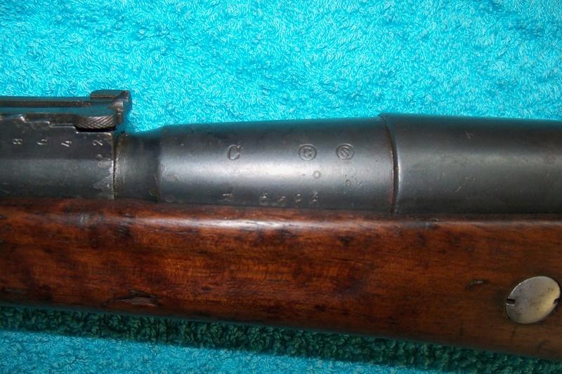 Carabine de gendarmerie Berthier Mle 1890 St Etienne 100_7513