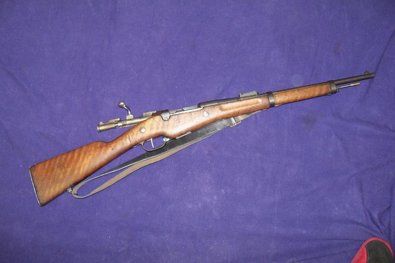 Carabine de gendarmerie Berthier Mle 1890 St Etienne 100_7757