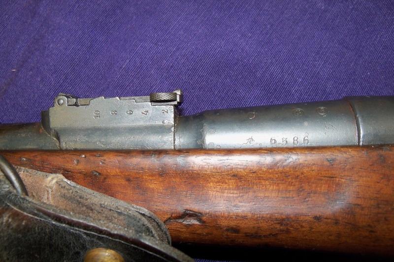 Carabine de gendarmerie Berthier Mle 1890 St Etienne 100_7758