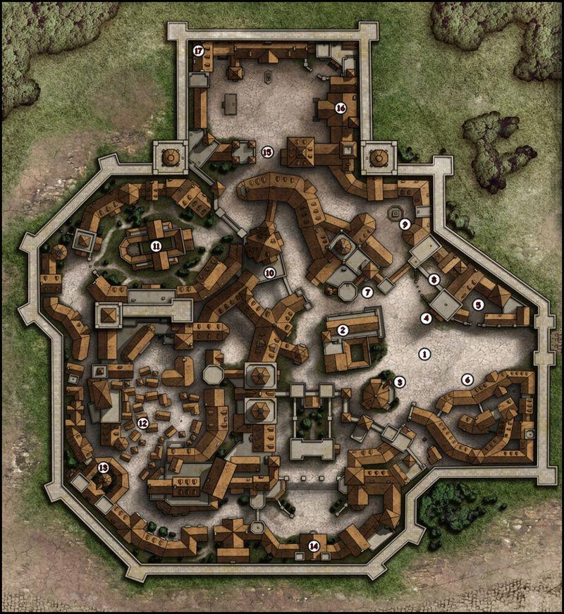 Villes et avants-postes du Clan Thorym10