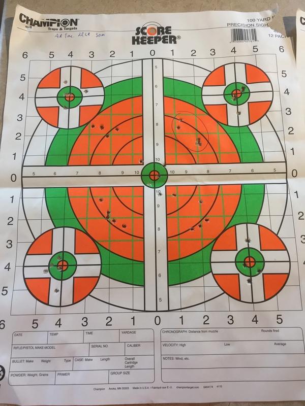 Quelles sont vos distances de tir et grouping avec une 22lr ? - Page 2 02610