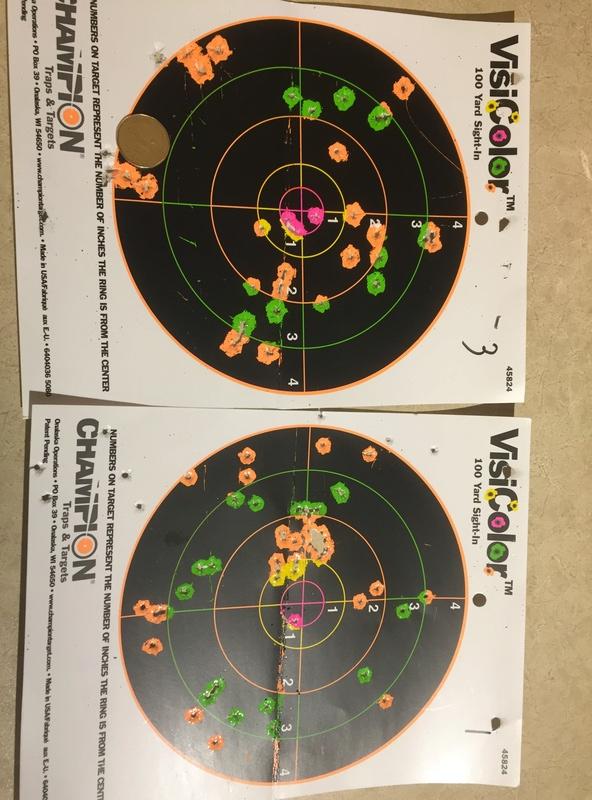 Quelles sont vos distances de tir et grouping avec une 22lr ? - Page 2 Img_5711