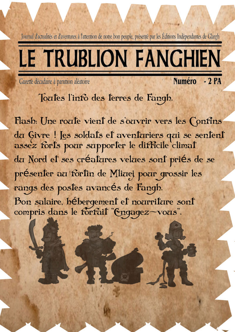 Une gazette RP pour la communauté Trubli11