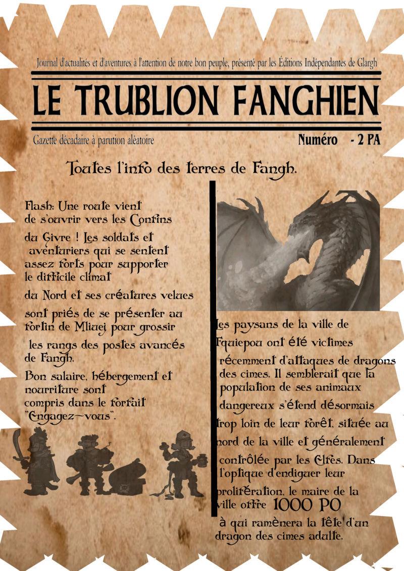 Une gazette RP pour la communauté Trubli12
