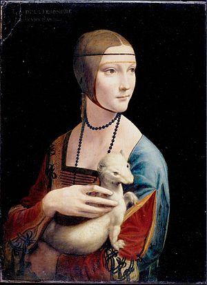 La dama del armiño, De Leonardo da Vinci -Soneto heroico- Dama_z10
