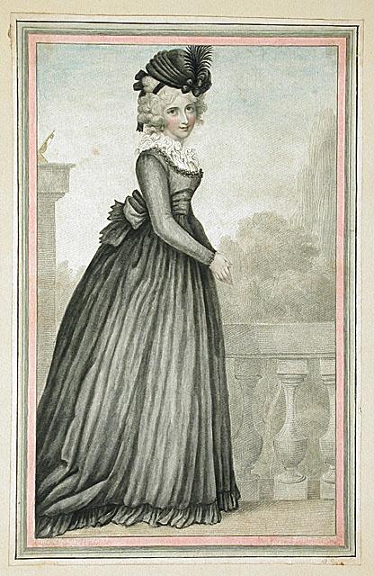 Vêtements de deuil au XVIIIe Tumblr10