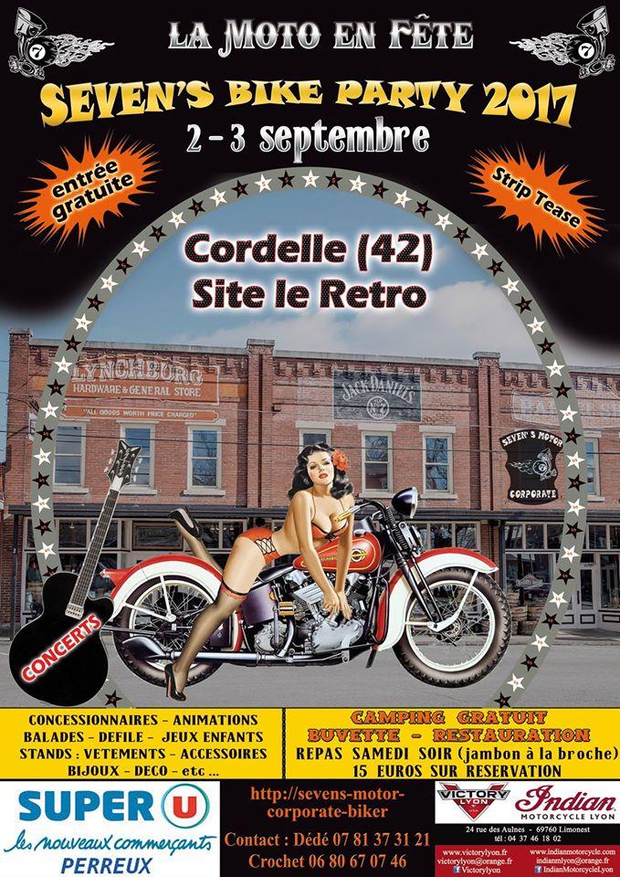 Seven's bike party 2 et 3 septembre 2017 Cordelle (42) 16996410