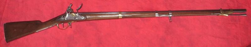 Fusil de dragon 1815 manufacture impériale de Tulle 0211
