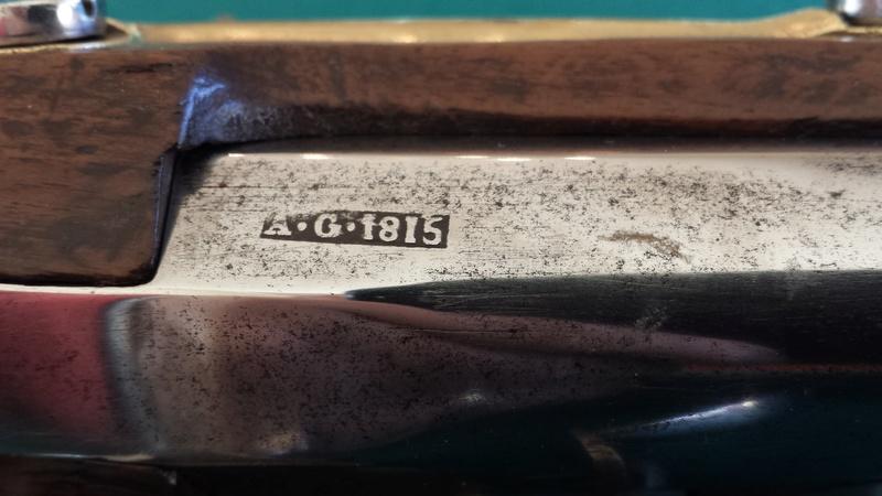 Fusil de dragon 1815 manufacture impériale de Tulle 030_po11