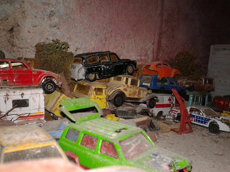 mon diorama casse majorette et autre  Casse_11