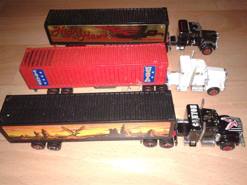 N°604 Kenworth + semi remorque container  ( version lisse ) Majore50