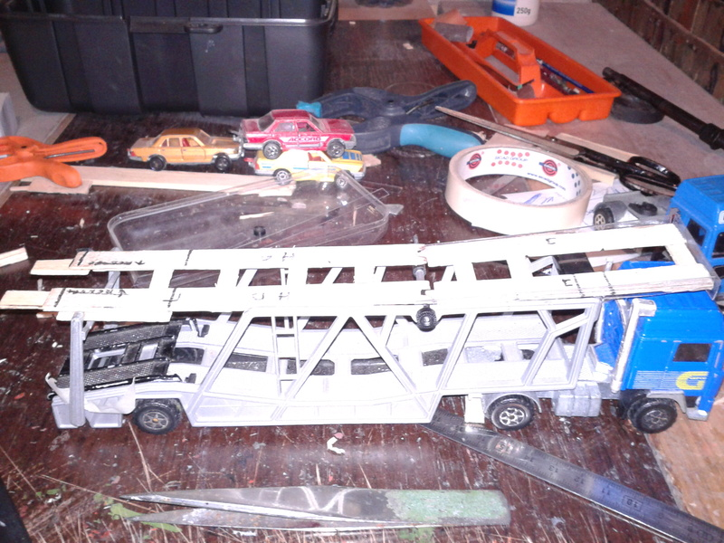 modif /restauration sur majorette  V_1410