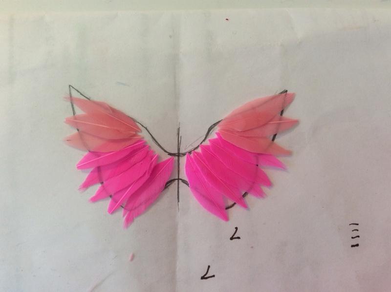 Suzy's DIY crafts NEW: faire des ailes pour son bebe Takara! Image125