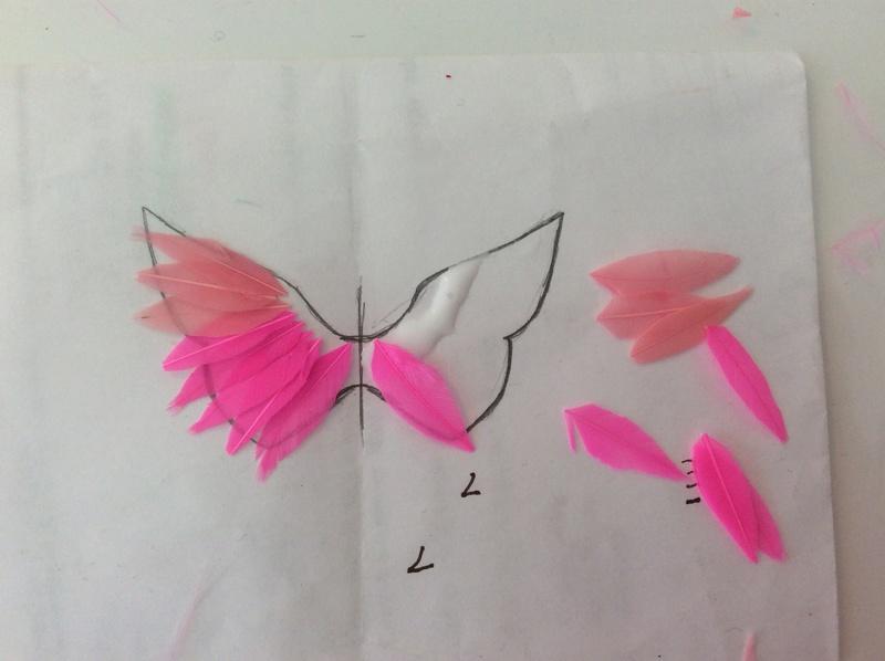 Suzy's DIY crafts NEW: faire des ailes pour son bebe Takara! Image126