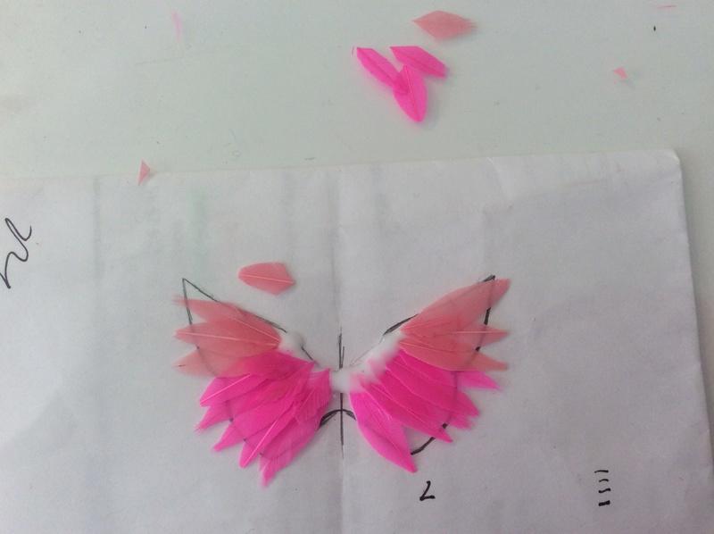 Suzy's DIY crafts NEW: faire des ailes pour son bebe Takara! Image127
