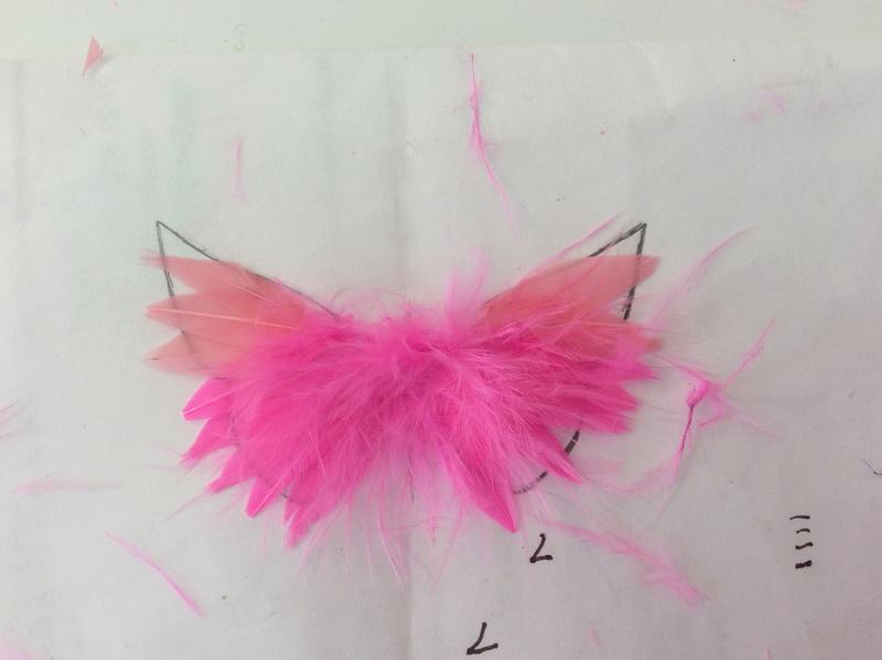 Suzy's DIY crafts NEW: faire des ailes pour son bebe Takara! Image129