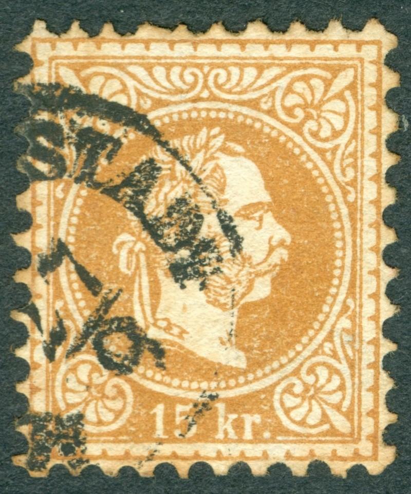 Freimarken-Ausgabe 1867 : Kopfbildnis Kaiser Franz Joseph I - Seite 17 1867_110